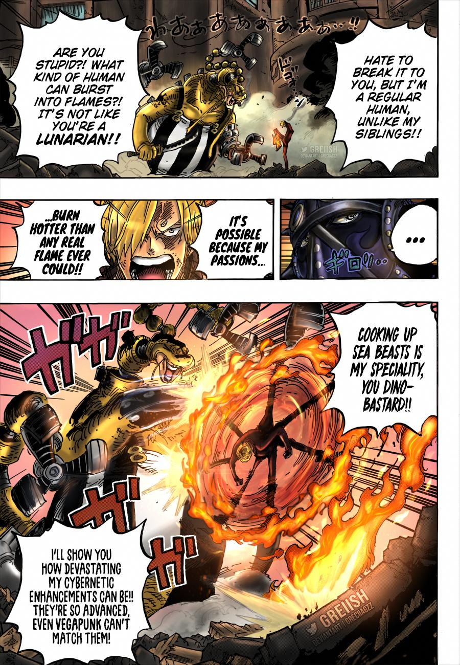 One Piece Chapter 1023 Page 17