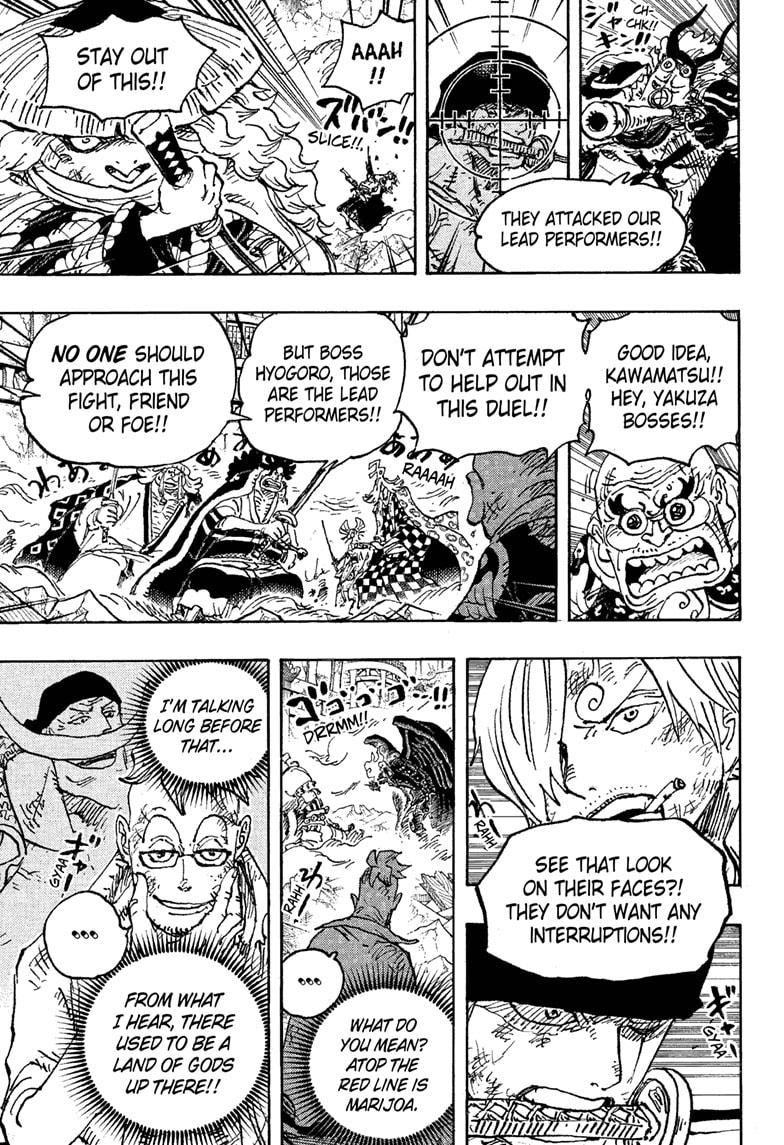 One Piece Chapter 1023 Page 3
