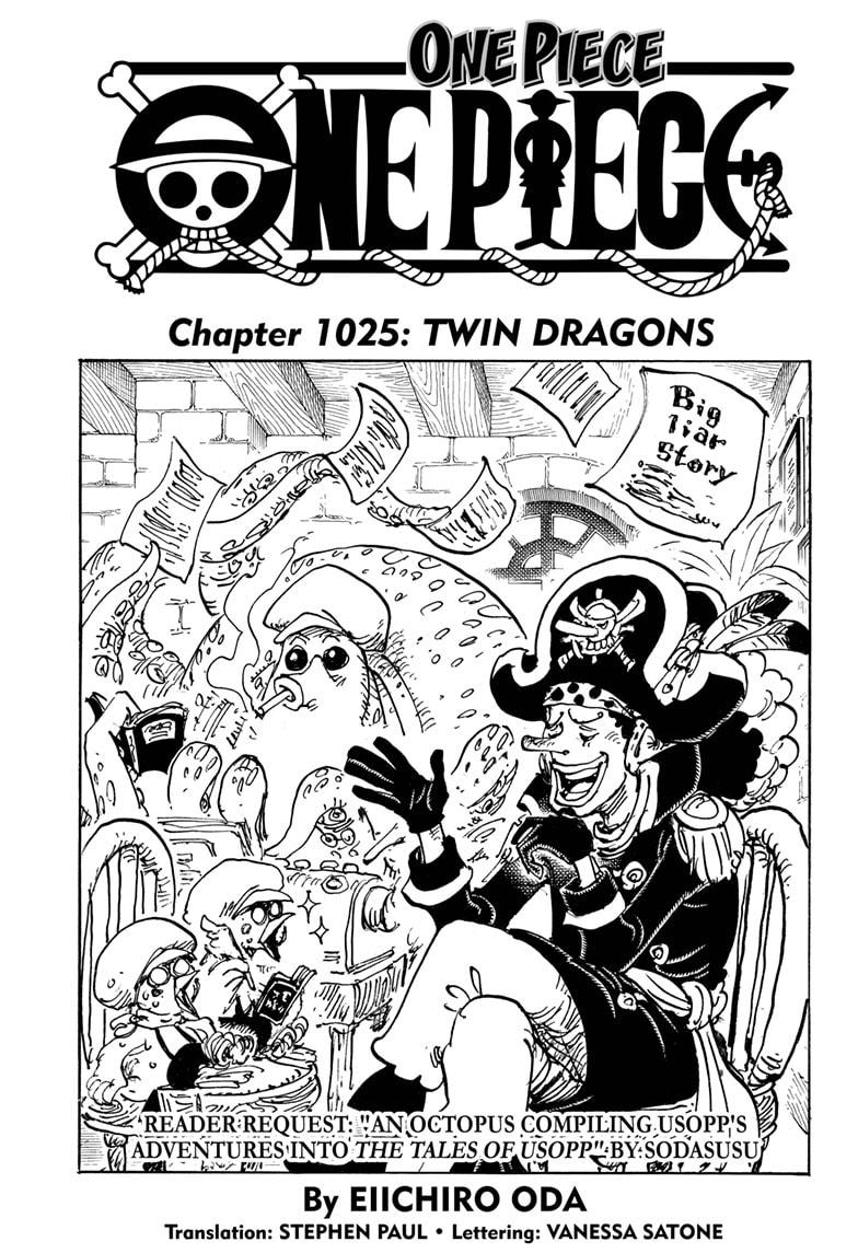 One Piece Chapter 1025 Page 1