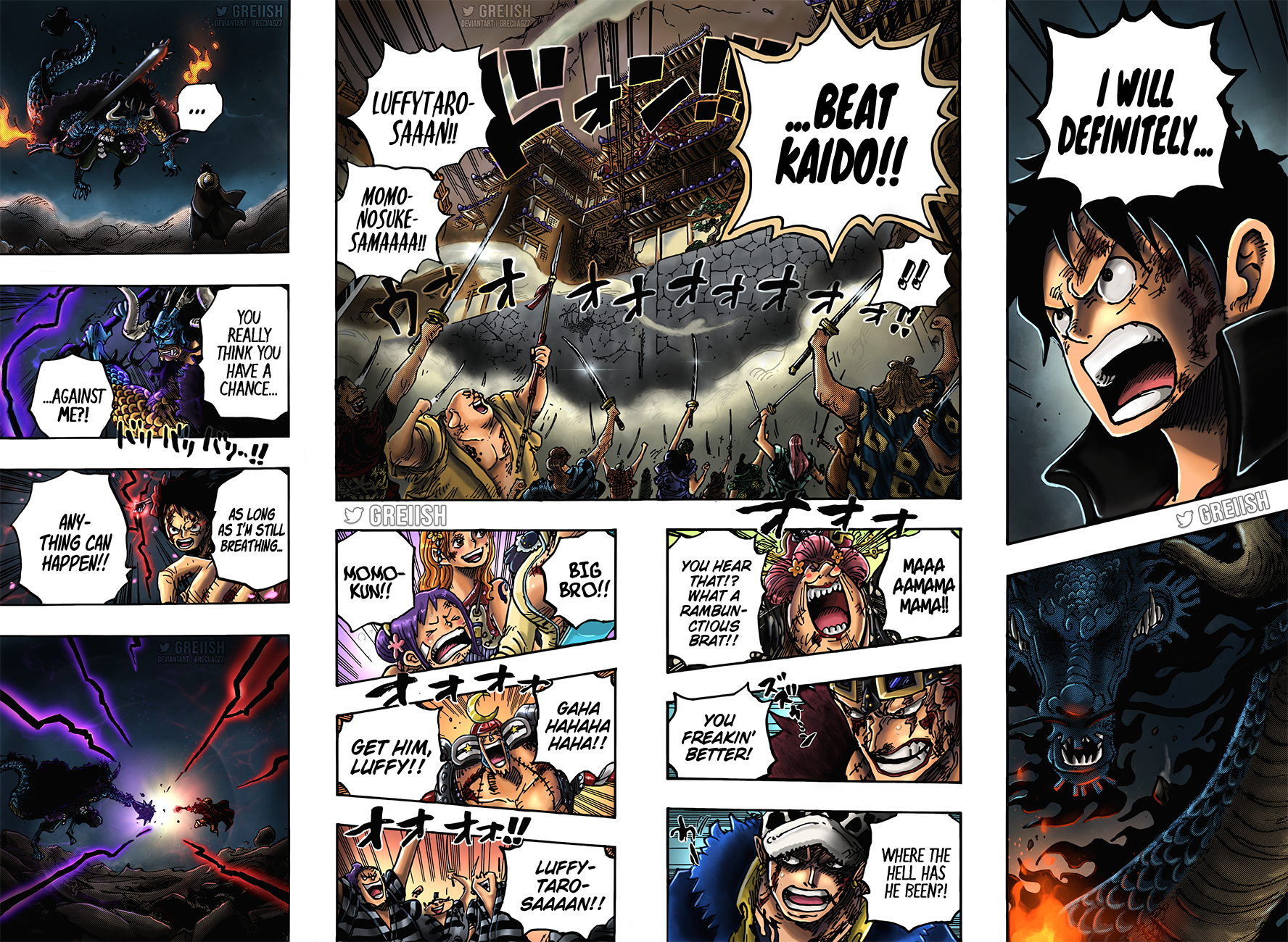 One Piece Chapter 1026 Page 16