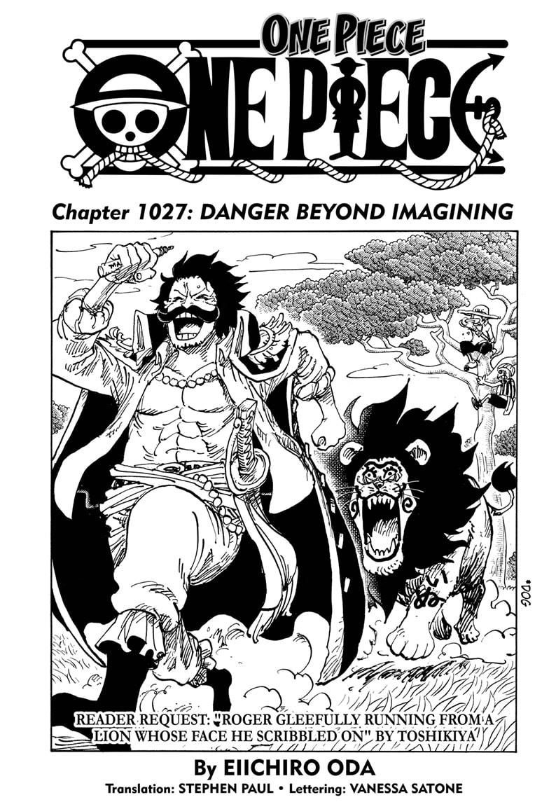 One Piece Chapter 1027 Page 1