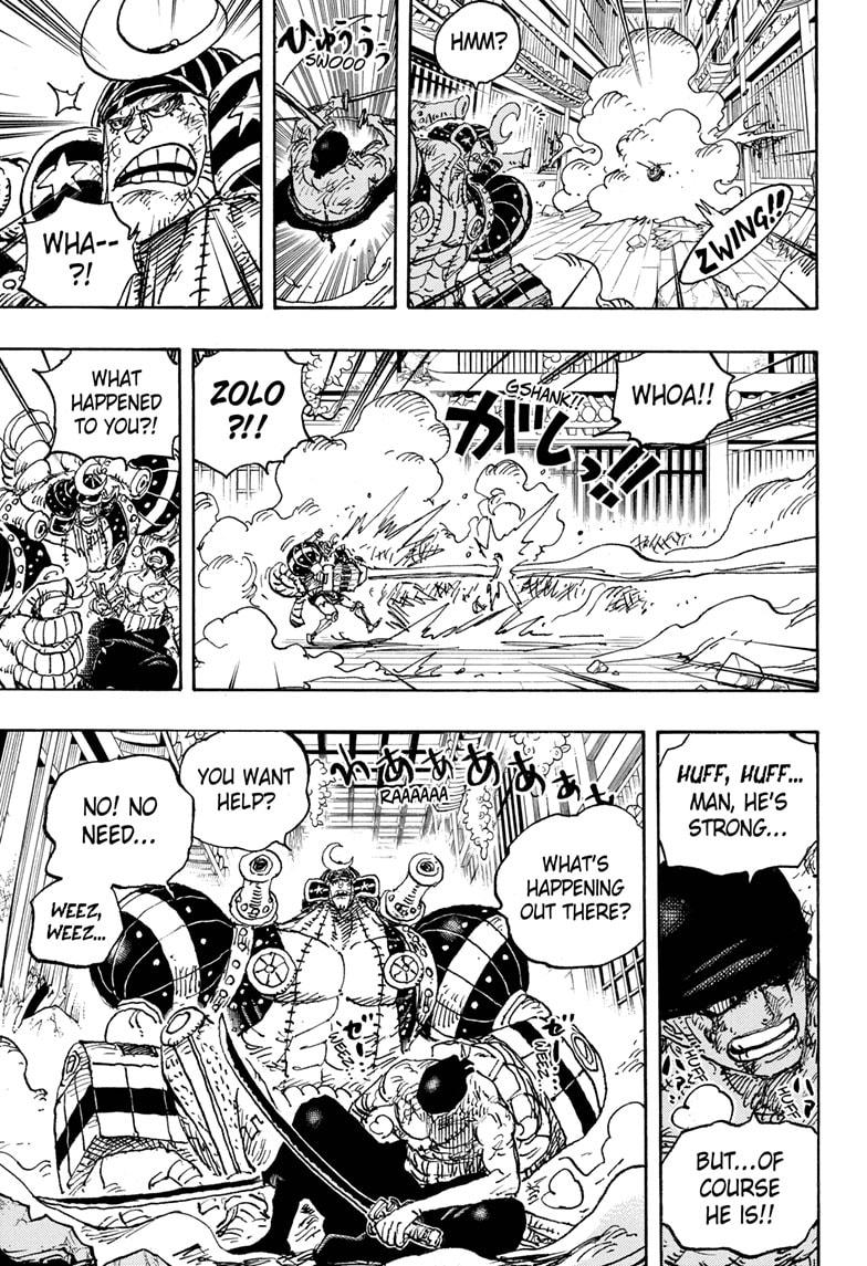 One Piece Chapter 1027 Page 13