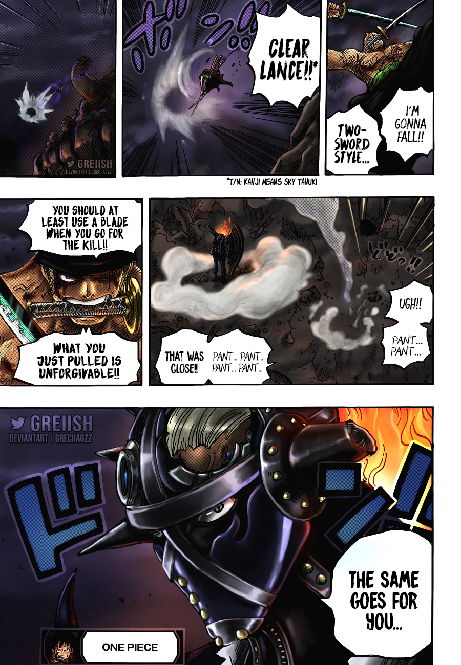 One Piece Chapter 1027 Page 20