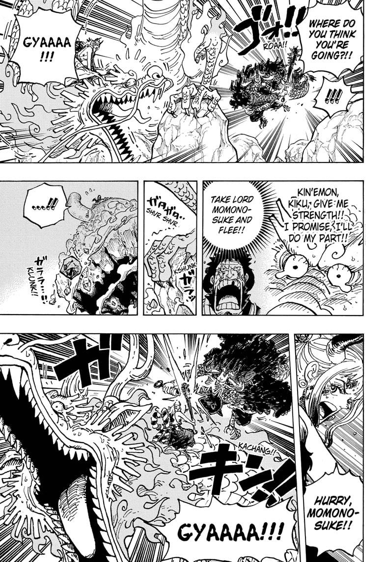 One Piece Chapter 1027 Page 5