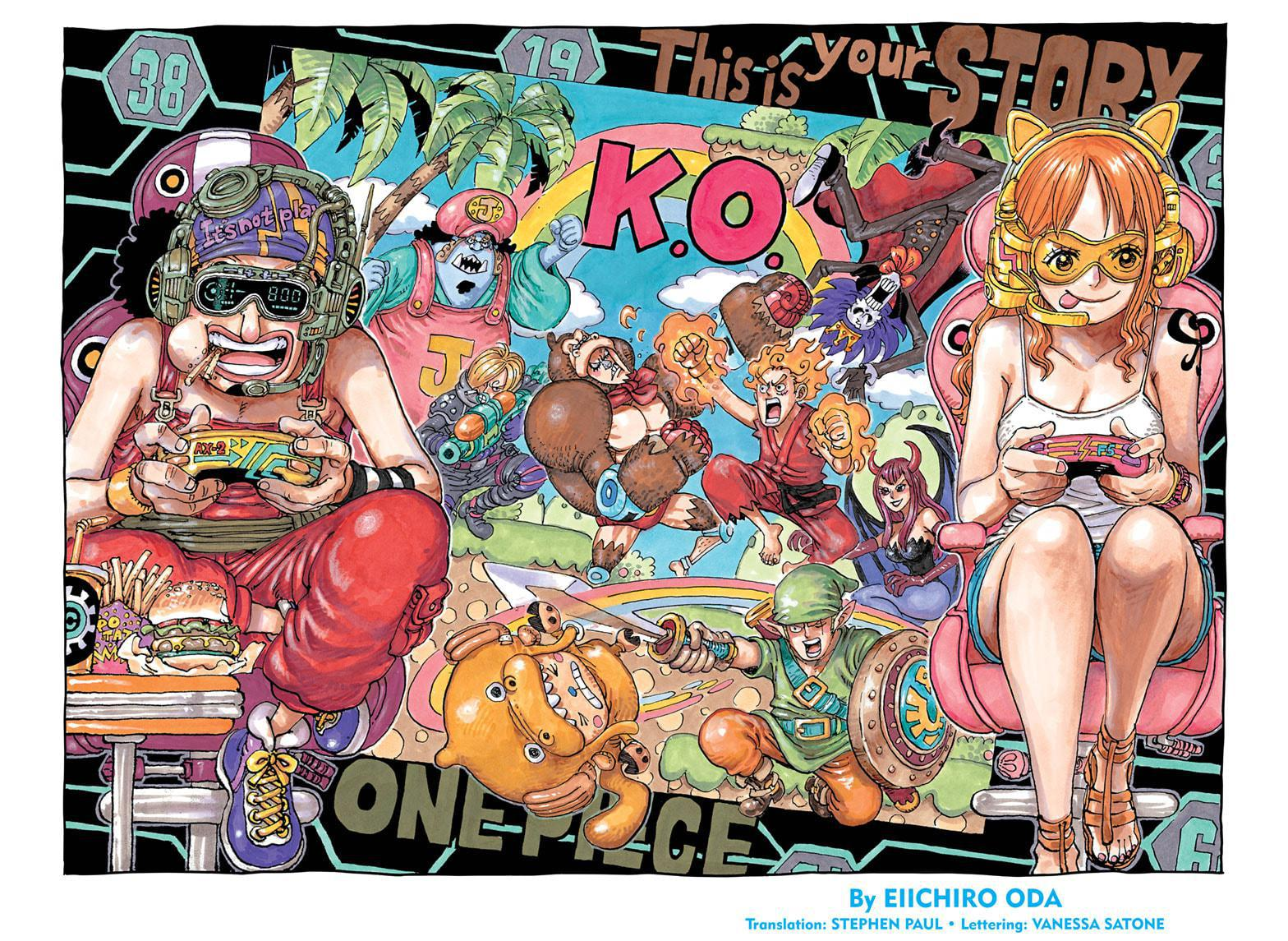 One Piece Chapter 1028 Page 1