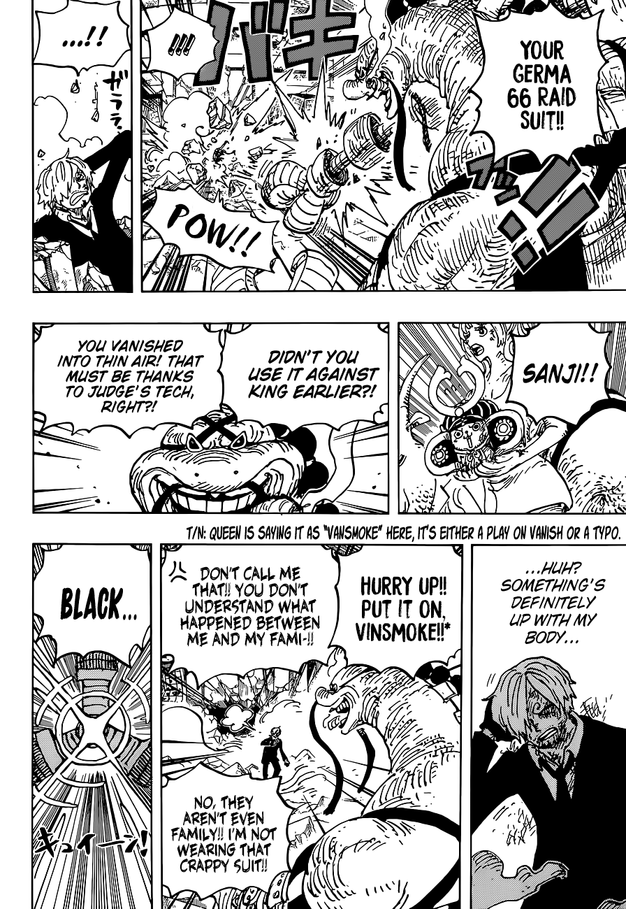 One Piece Chapter 1028 Page 11