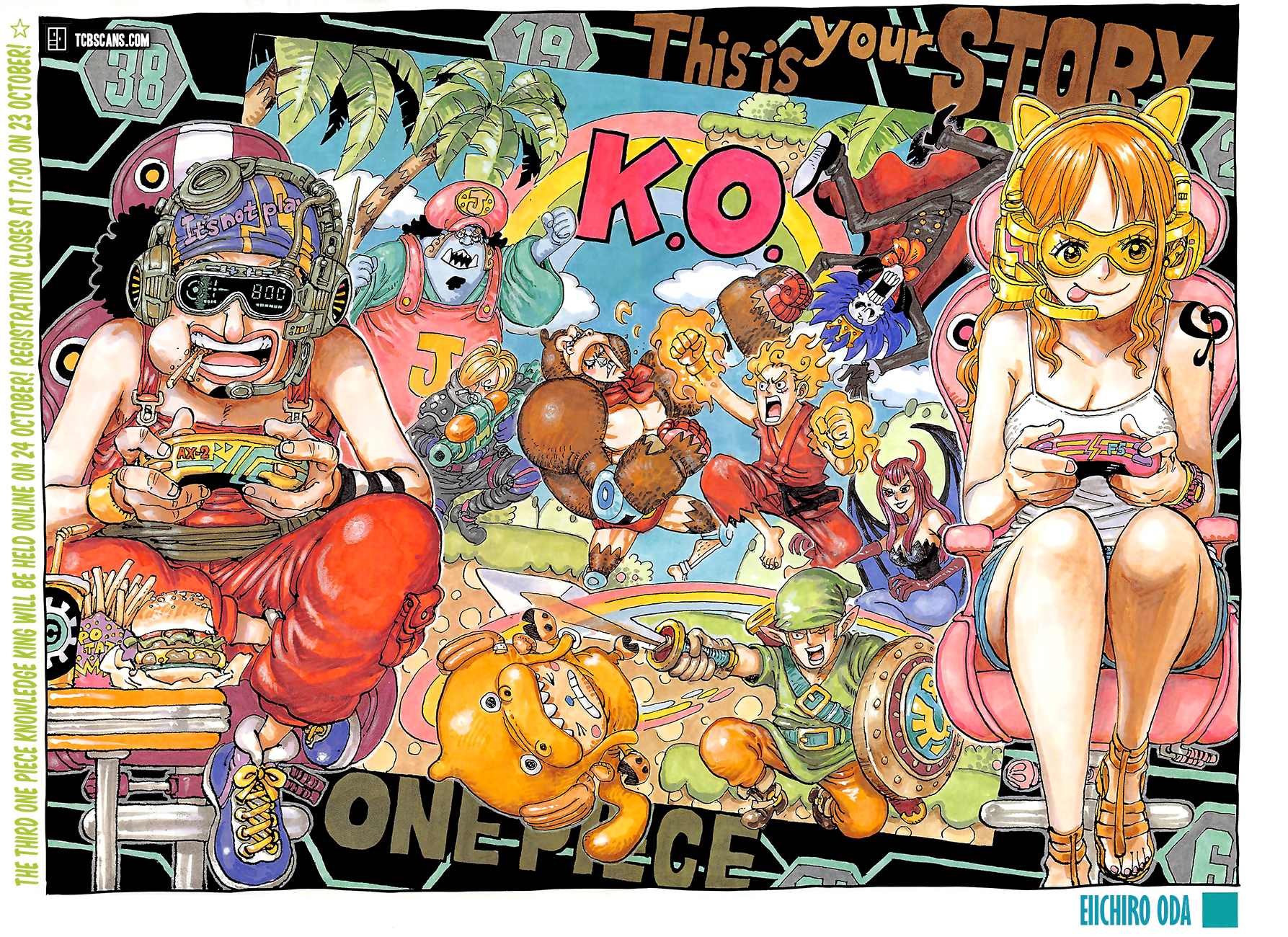 One Piece Chapter 1028 Page 3