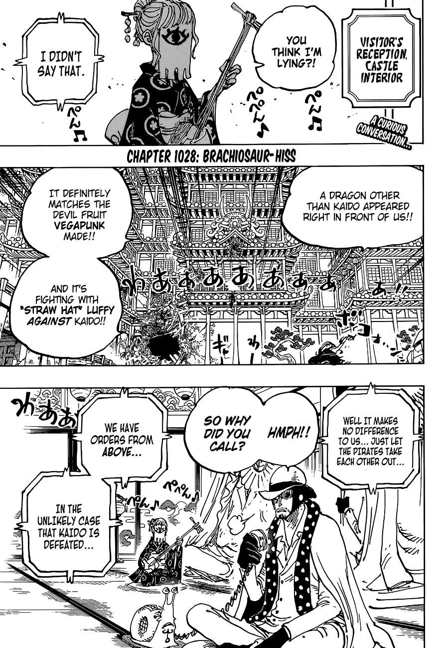 One Piece Chapter 1028 Page 4