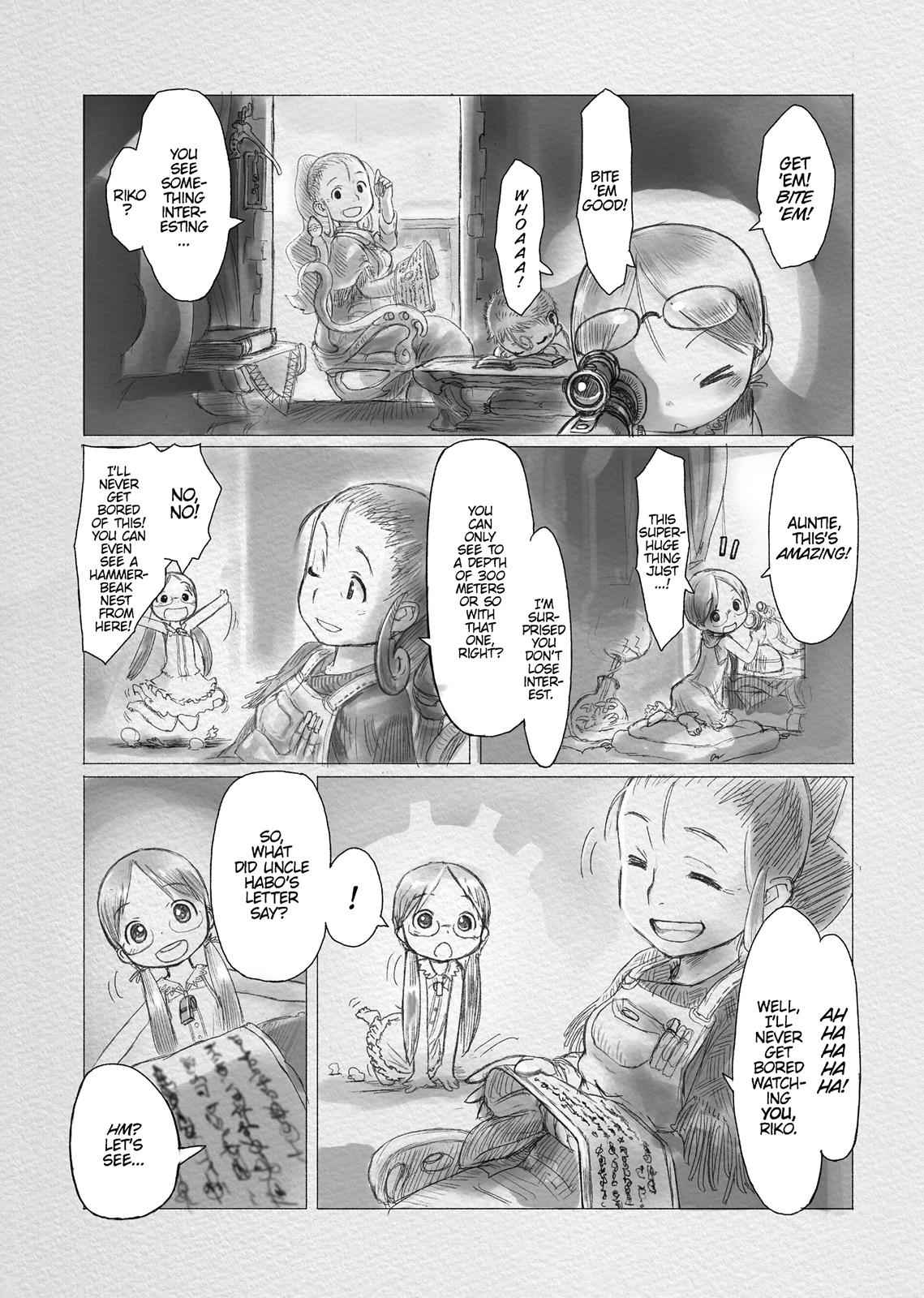 Made in Abyss Chapter 1 Page 16