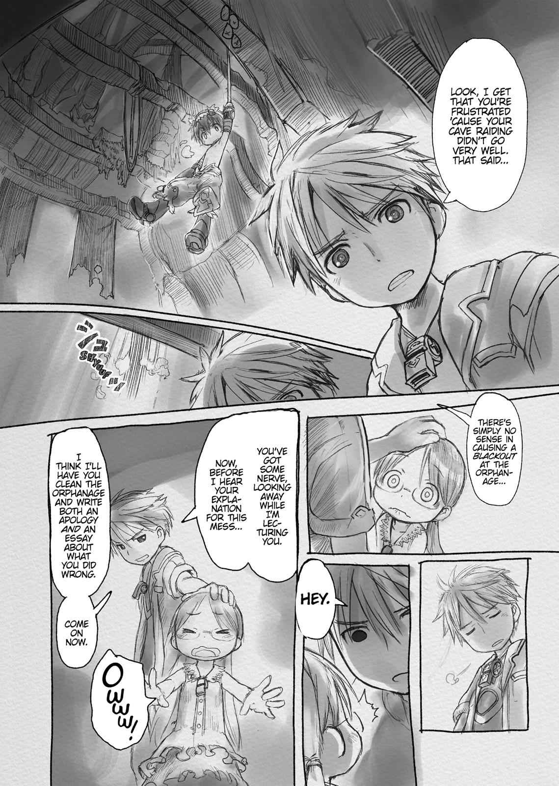 Made in Abyss Chapter 3 Page 10