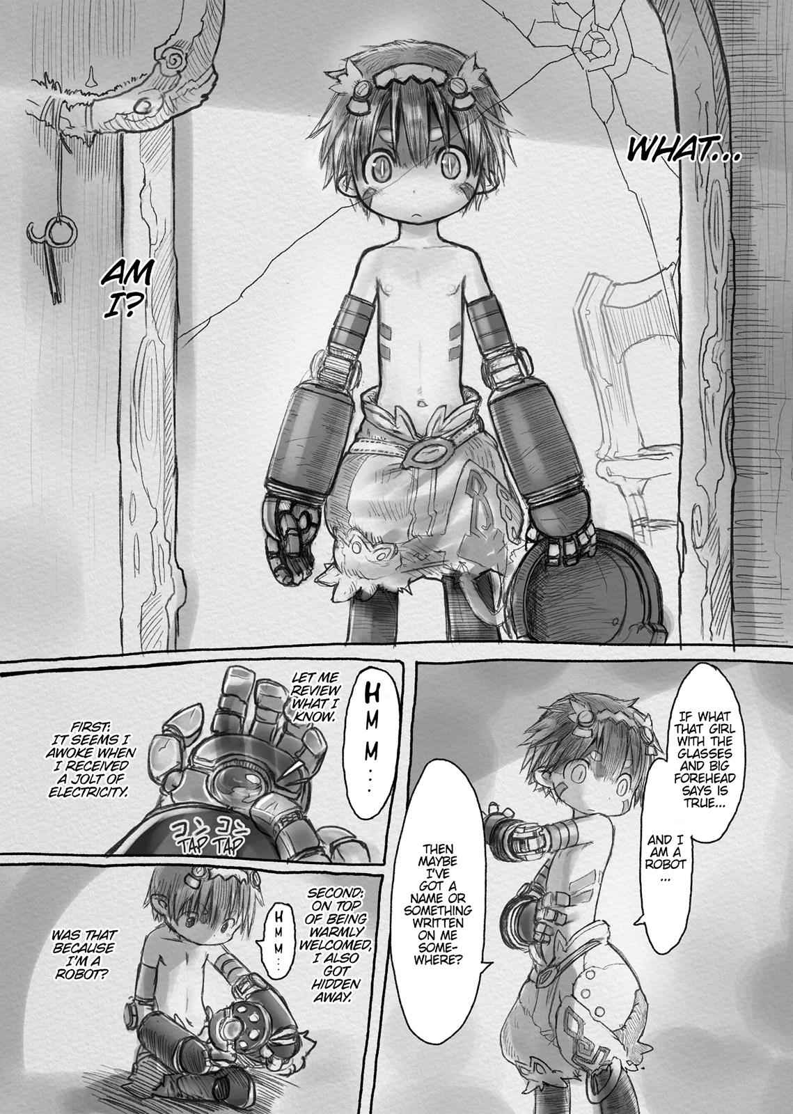 Made in Abyss Chapter 3 Page 12