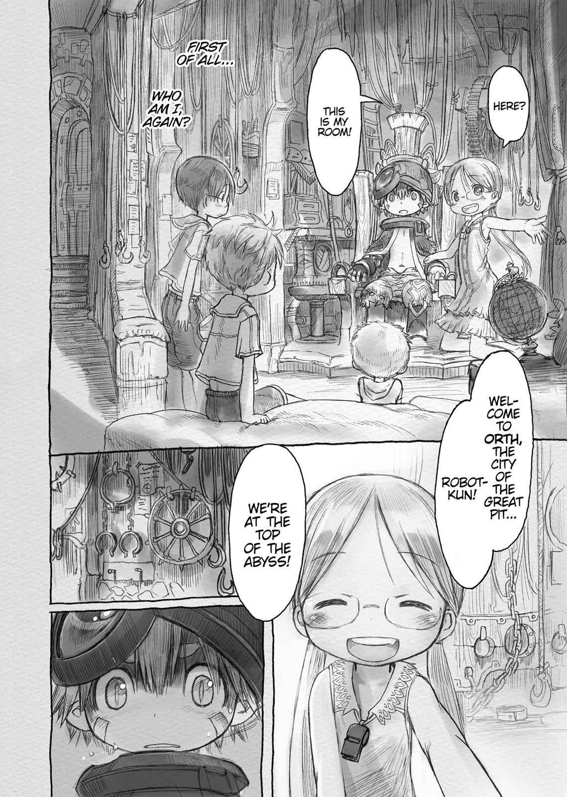 Made in Abyss Chapter 3 Page 4