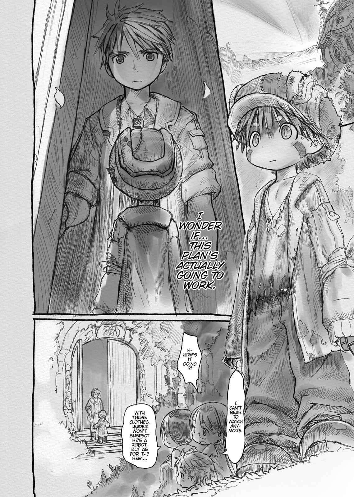 Made in Abyss Chapter 4 Page 12