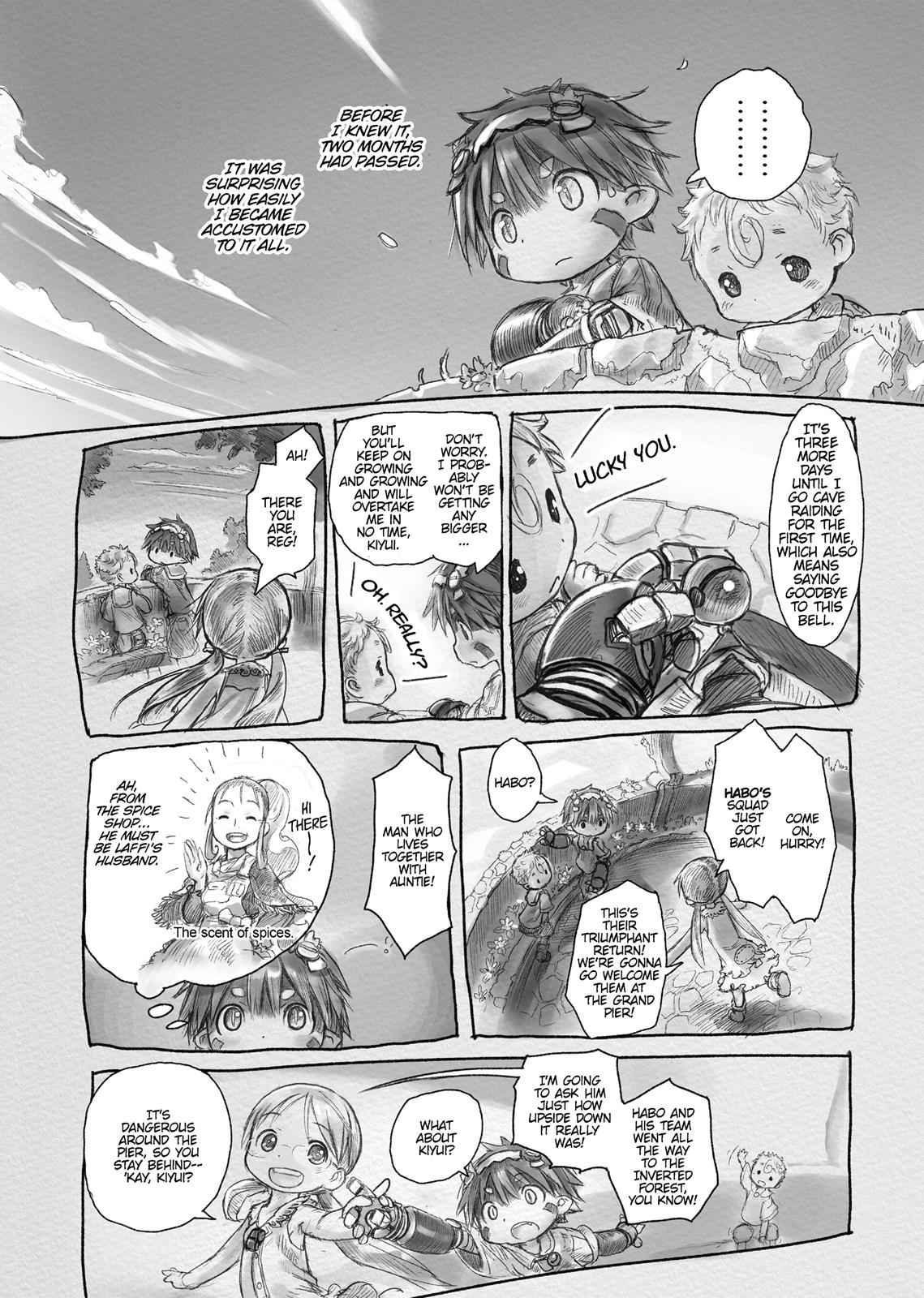 Made in Abyss Chapter 4 Page 18