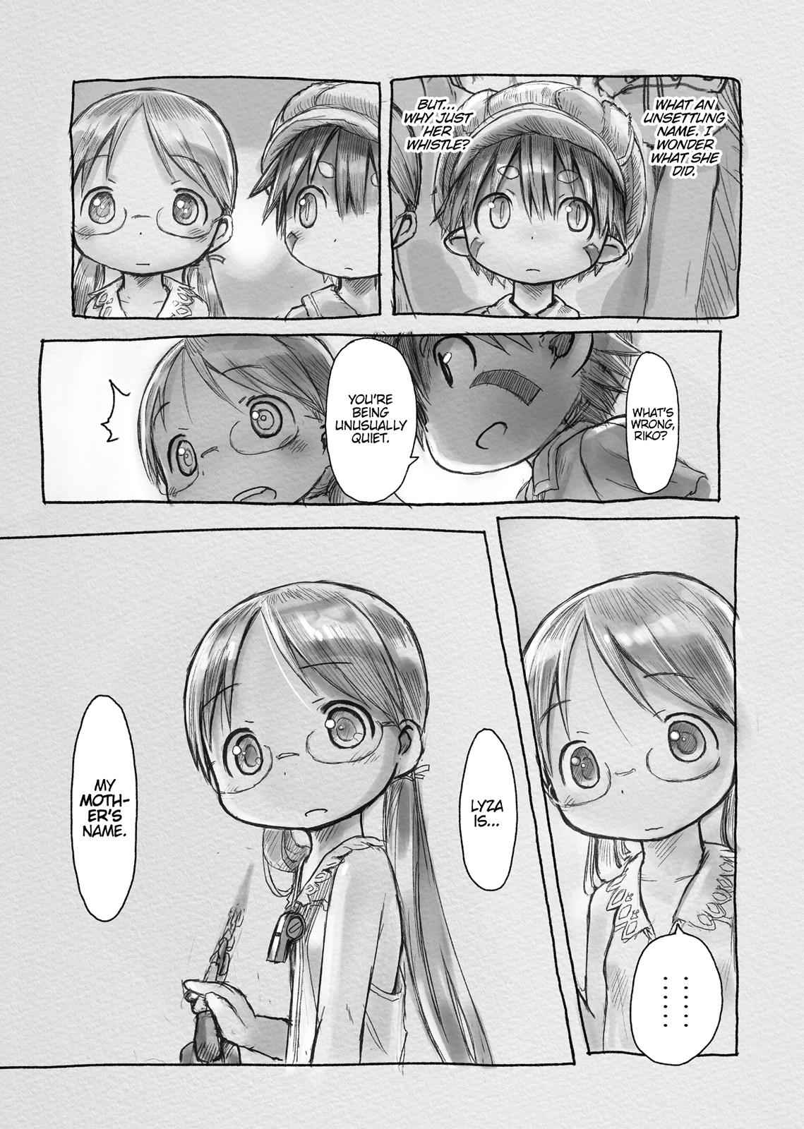 Made in Abyss Chapter 4 Page 21