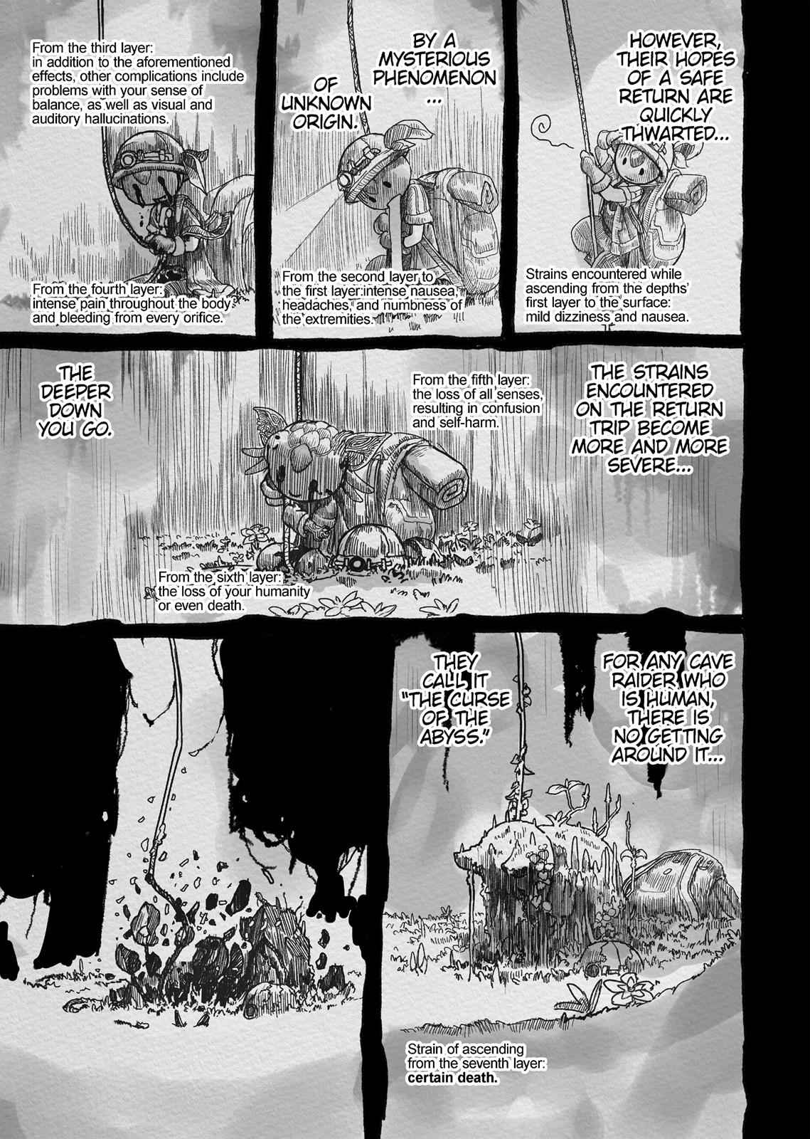 Made in Abyss Chapter 4 Page 3