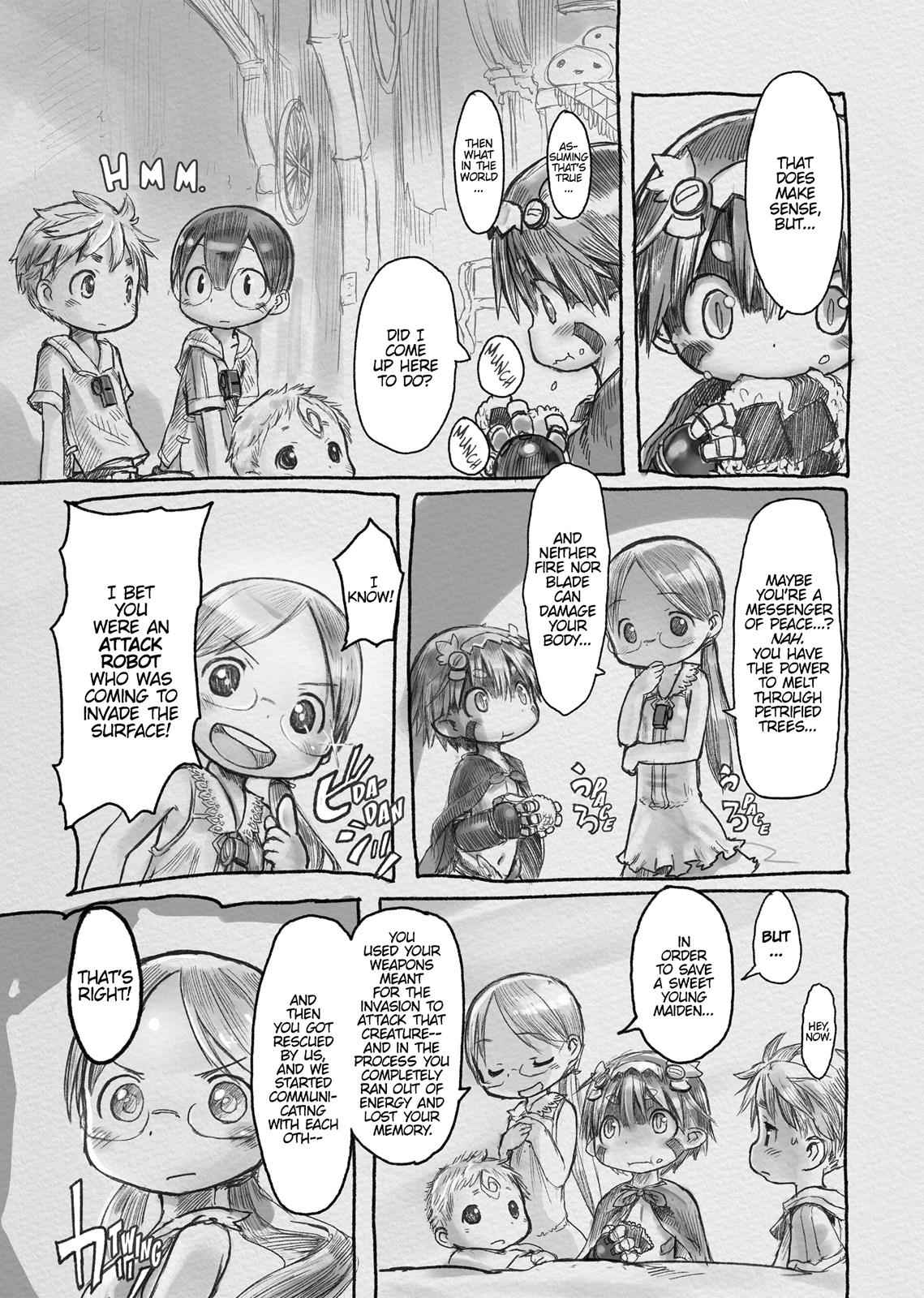 Made in Abyss Chapter 4 Page 5