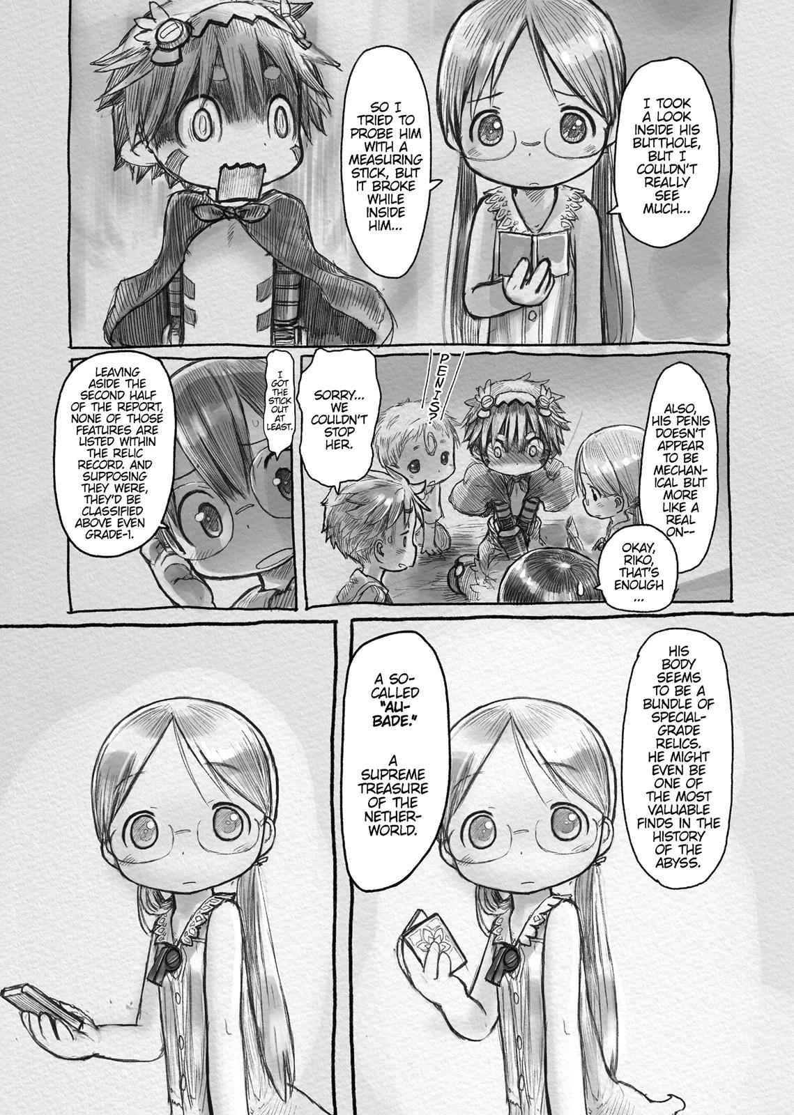 Made in Abyss Chapter 4 Page 9