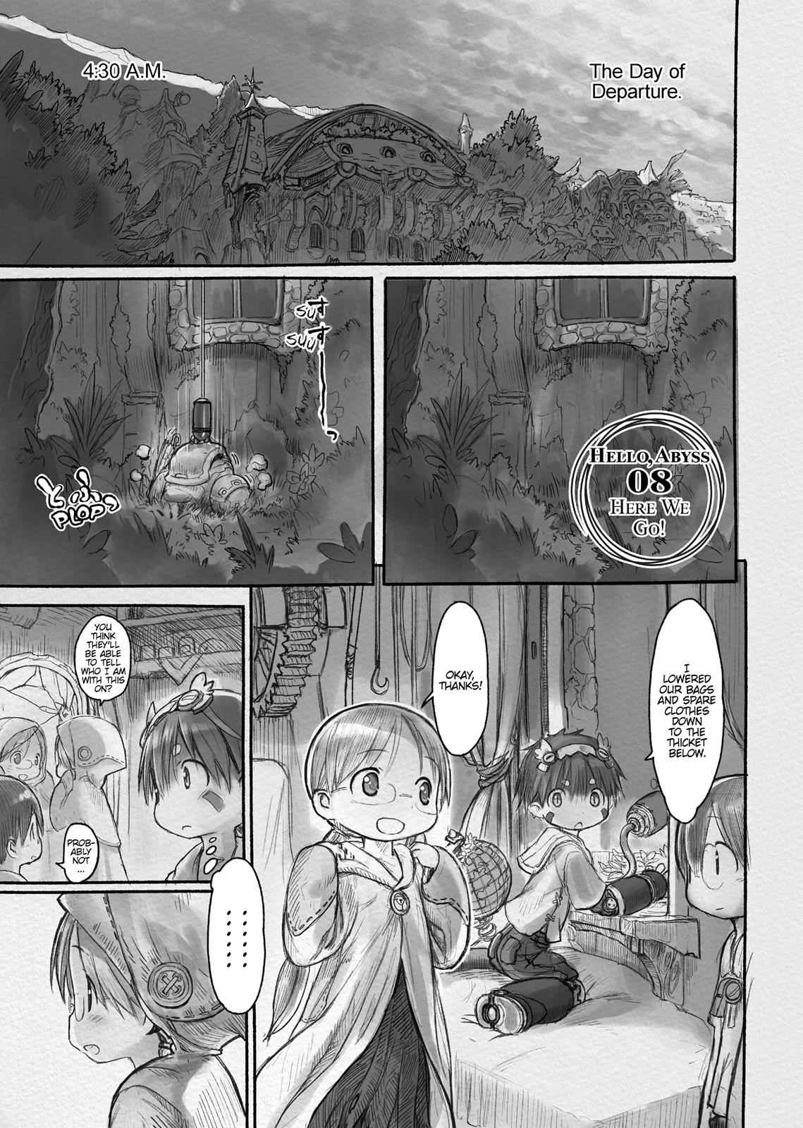 Made in Abyss Chapter 8 Page 1