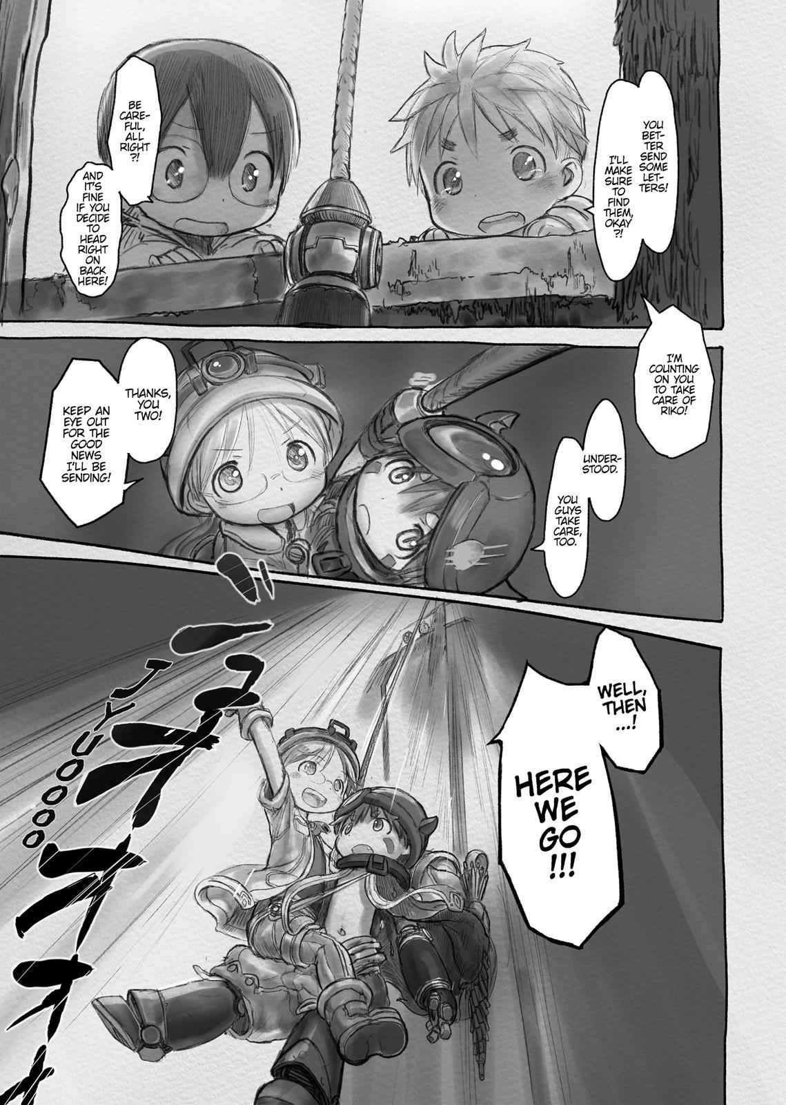 Made in Abyss Chapter 8 Page 21