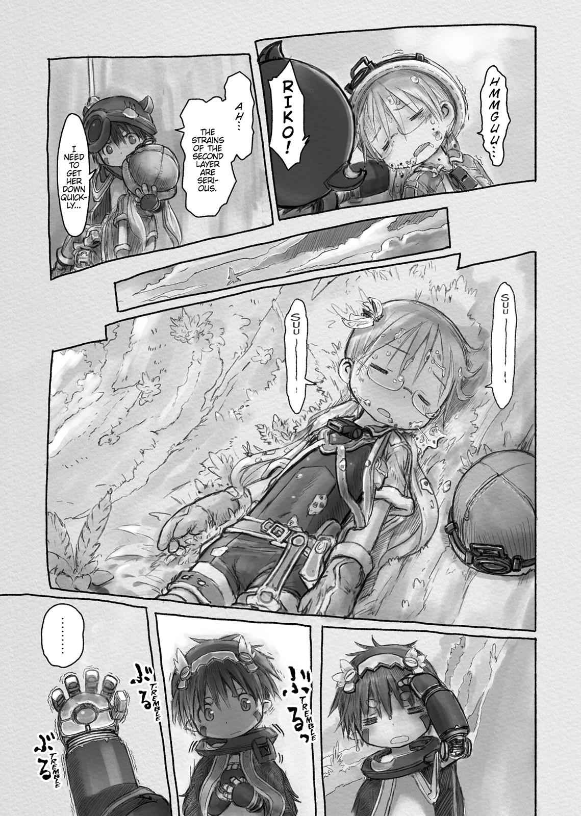 Made in Abyss Chapter 11 Page 10