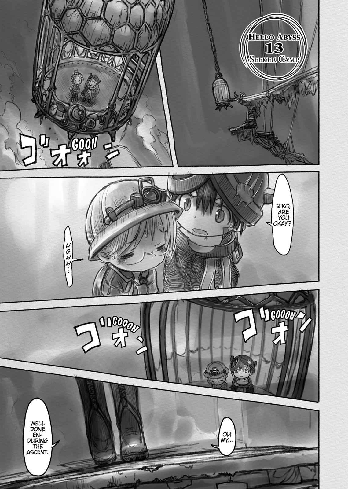 Made in Abyss Chapter 13 Page 1