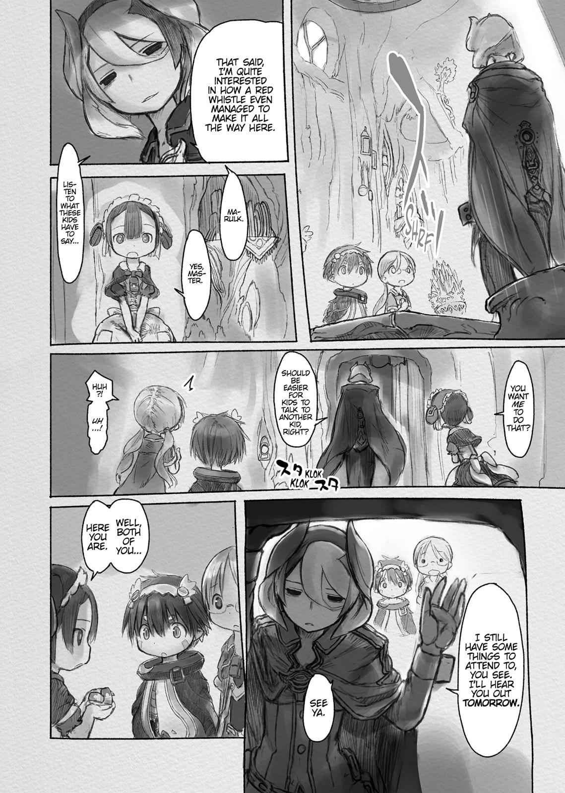 Made in Abyss Chapter 13 Page 8