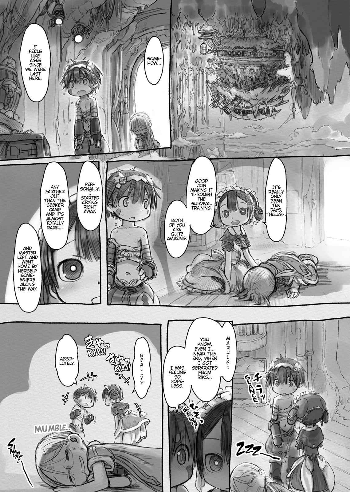 Made in Abyss Chapter 17 Page 11