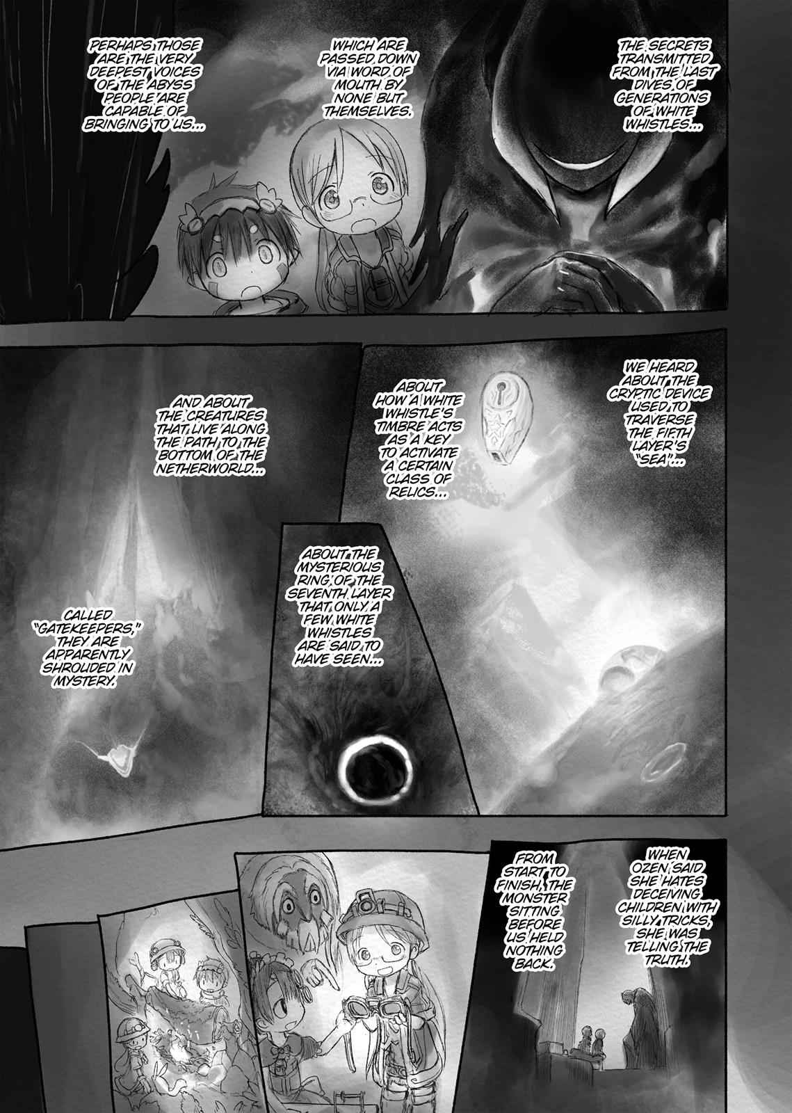 Made in Abyss Chapter 17 Page 17