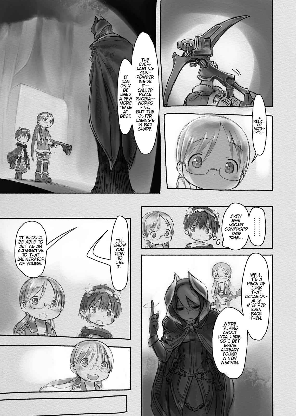 Made in Abyss Chapter 17 Page 19