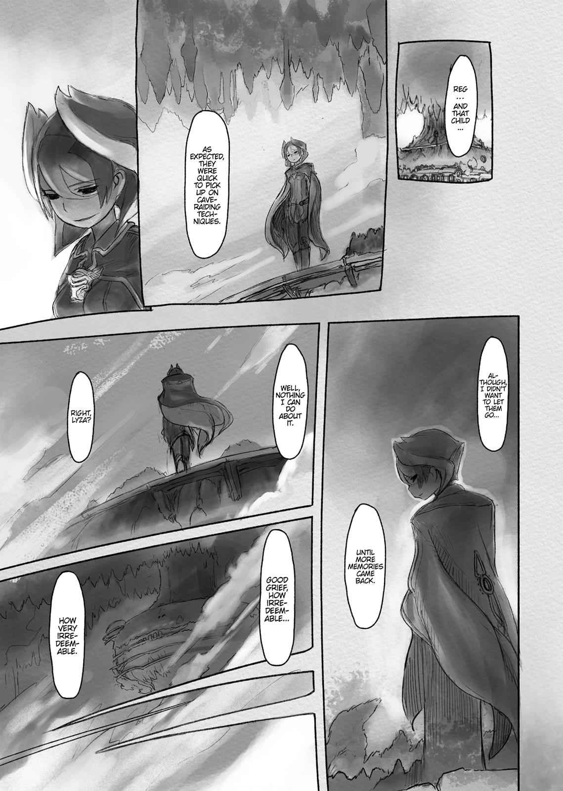 Made in Abyss Chapter 17 Page 23
