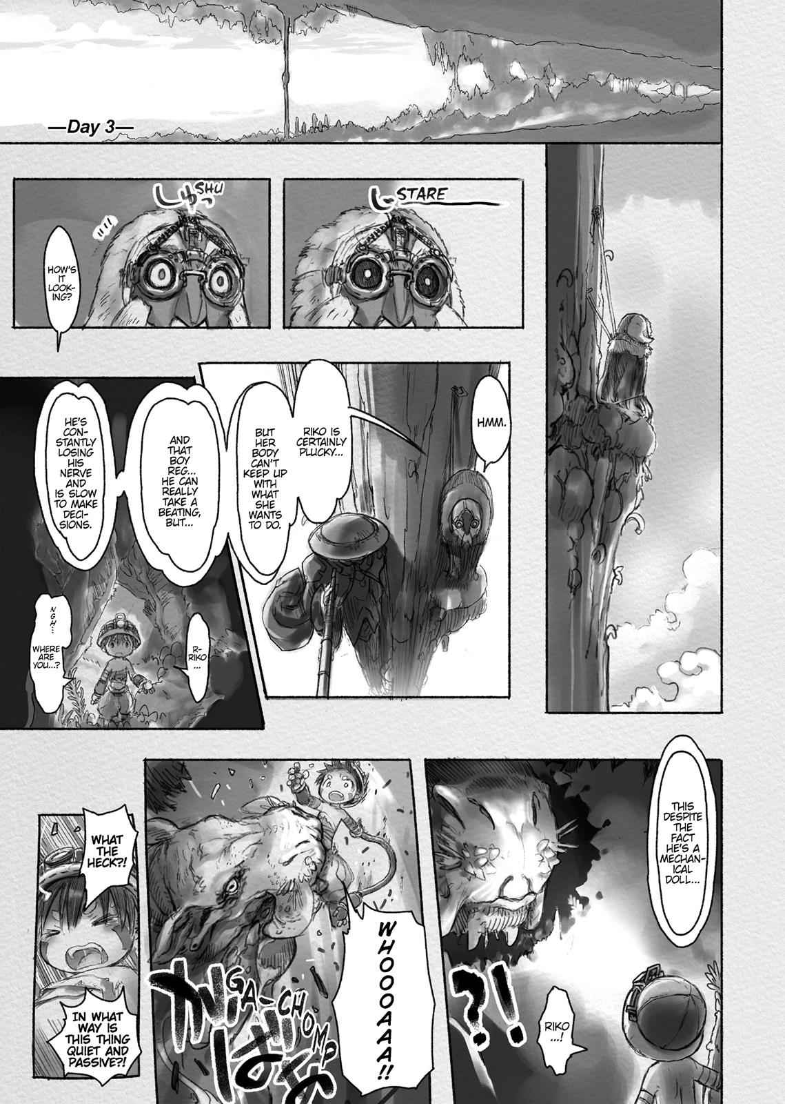 Made in Abyss Chapter 17 Page 9