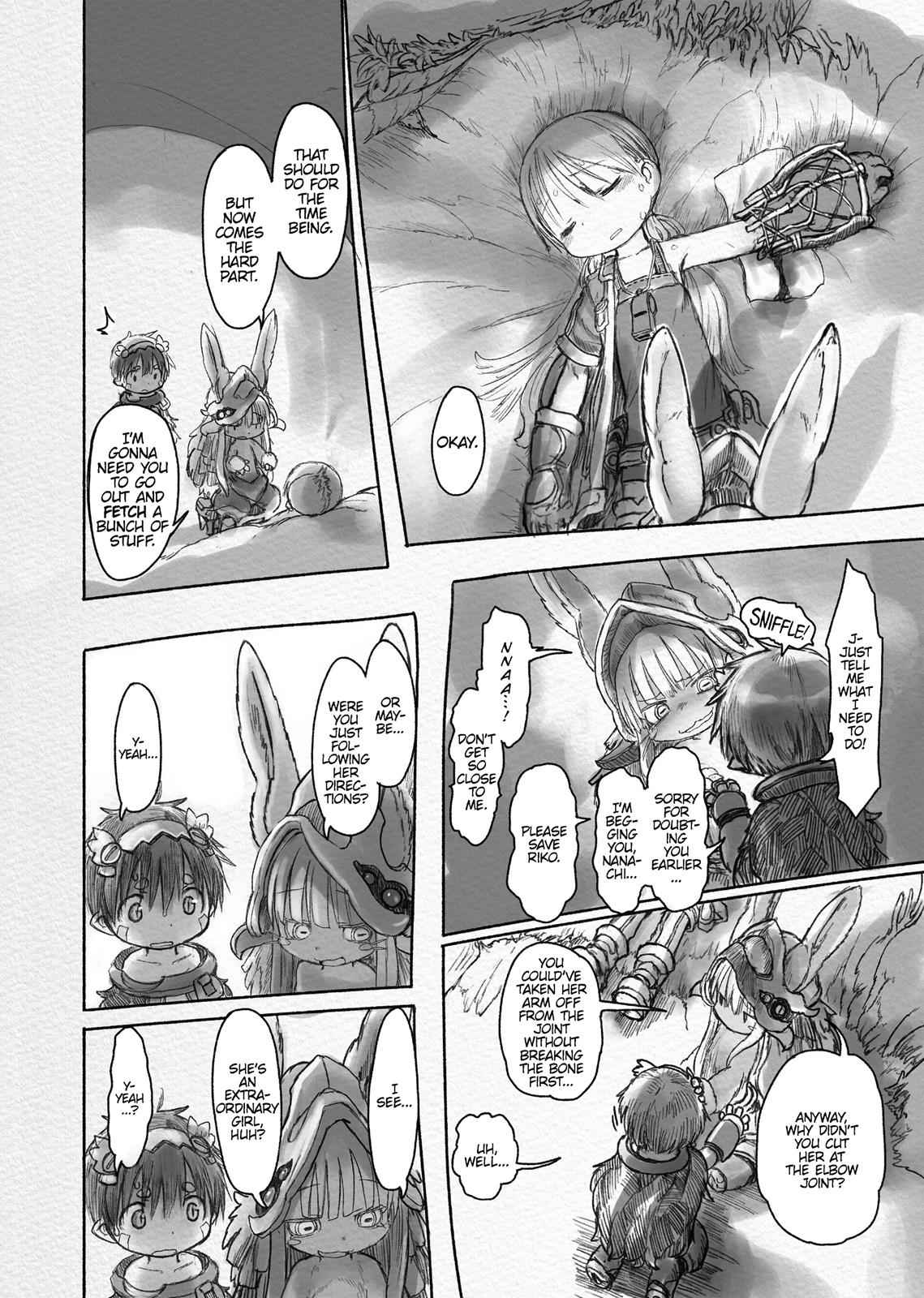 Made in Abyss Chapter 20 Page 8