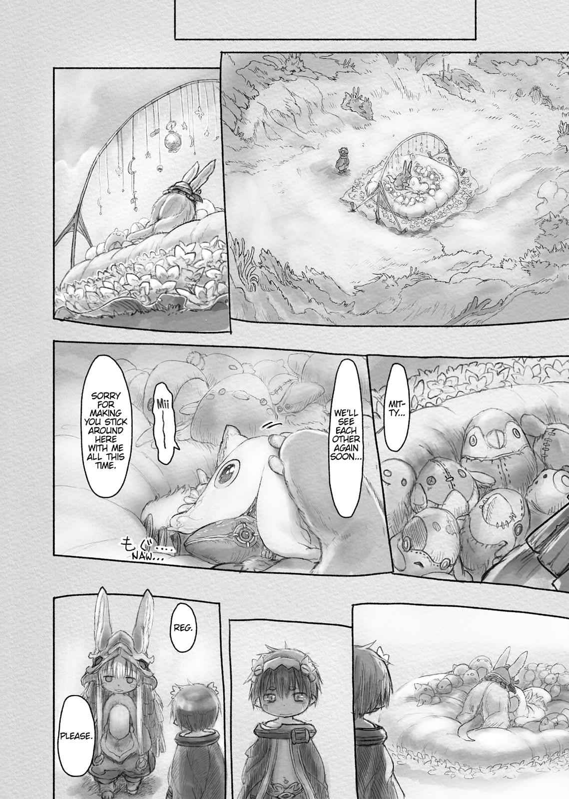 Made in Abyss Chapter 24 Page 8
