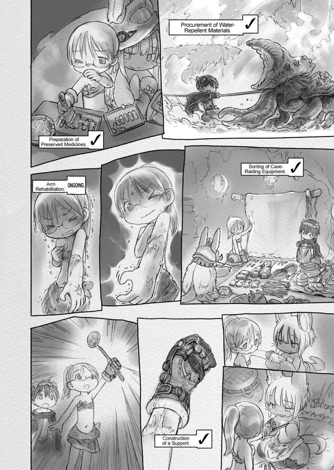Made in Abyss Chapter 26 Page 8