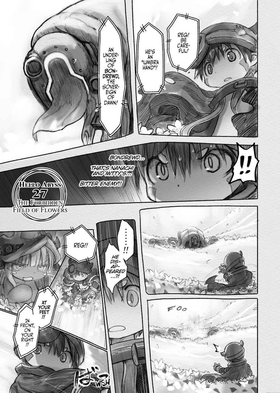 Made in Abyss Chapter 27 Page 1
