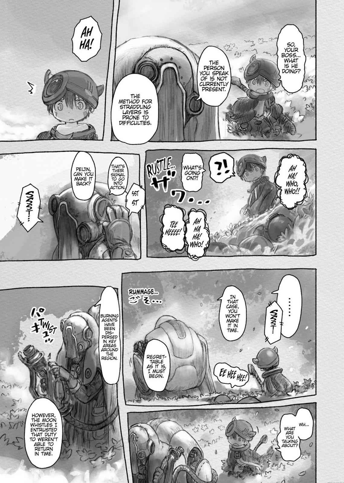 Made in Abyss Chapter 27 Page 11