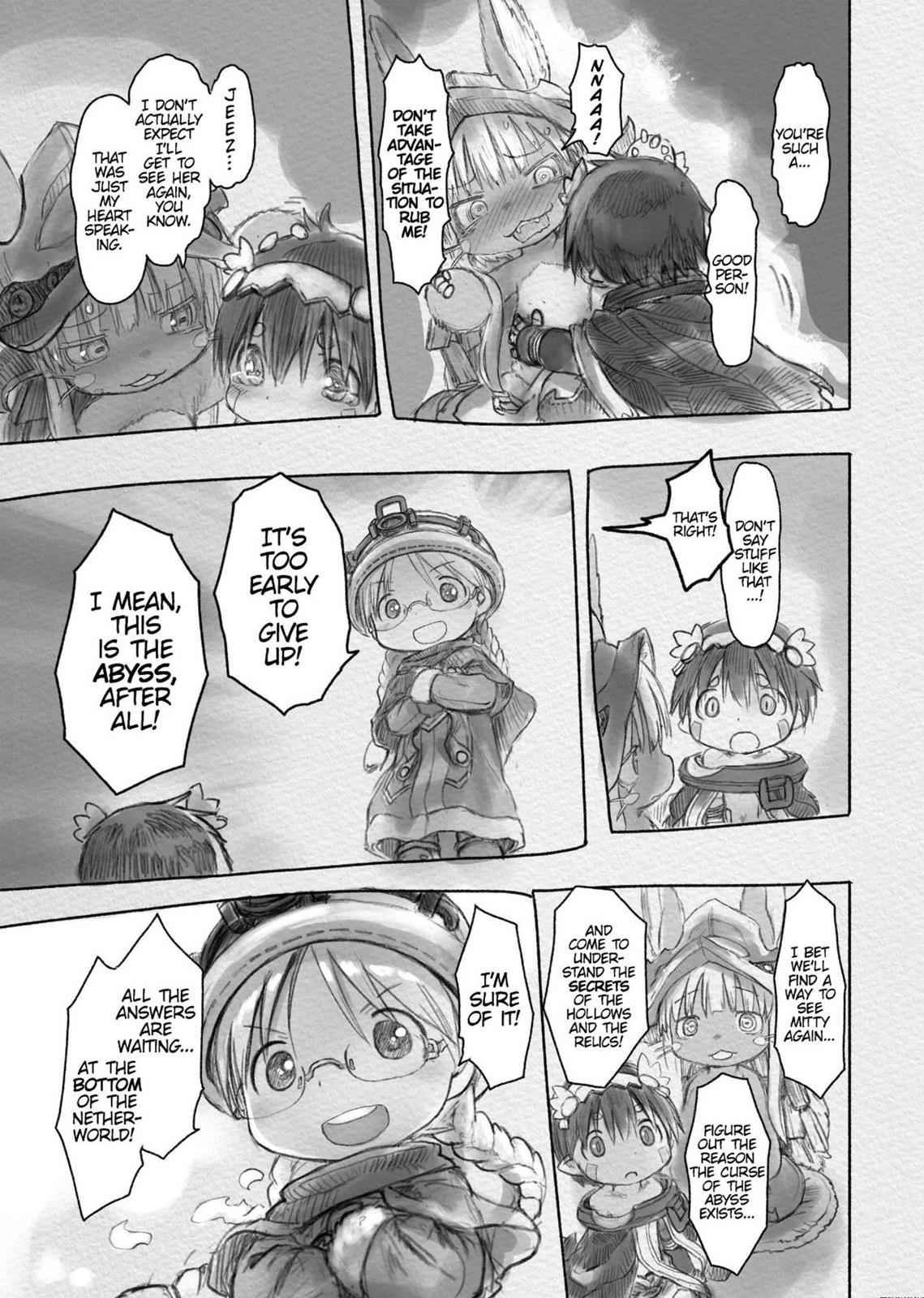Made in Abyss Chapter 28 Page 10