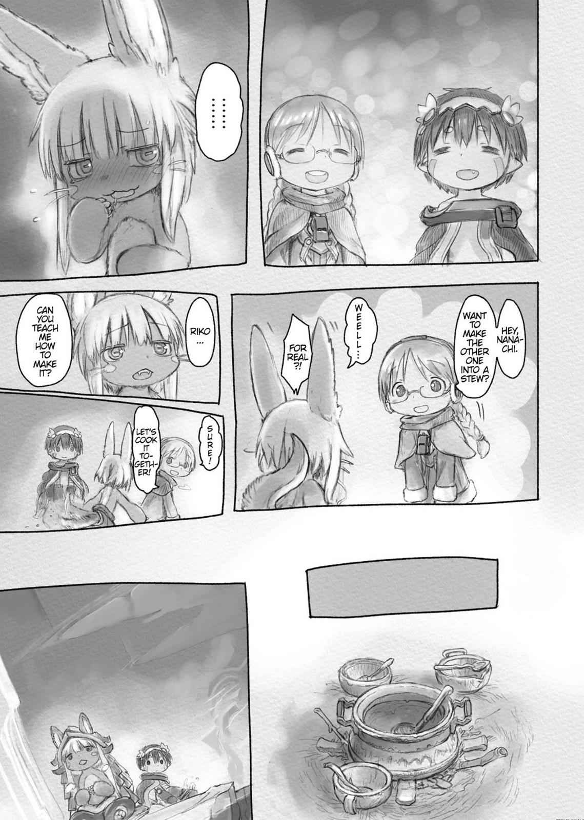 Made in Abyss Chapter 28 Page 8
