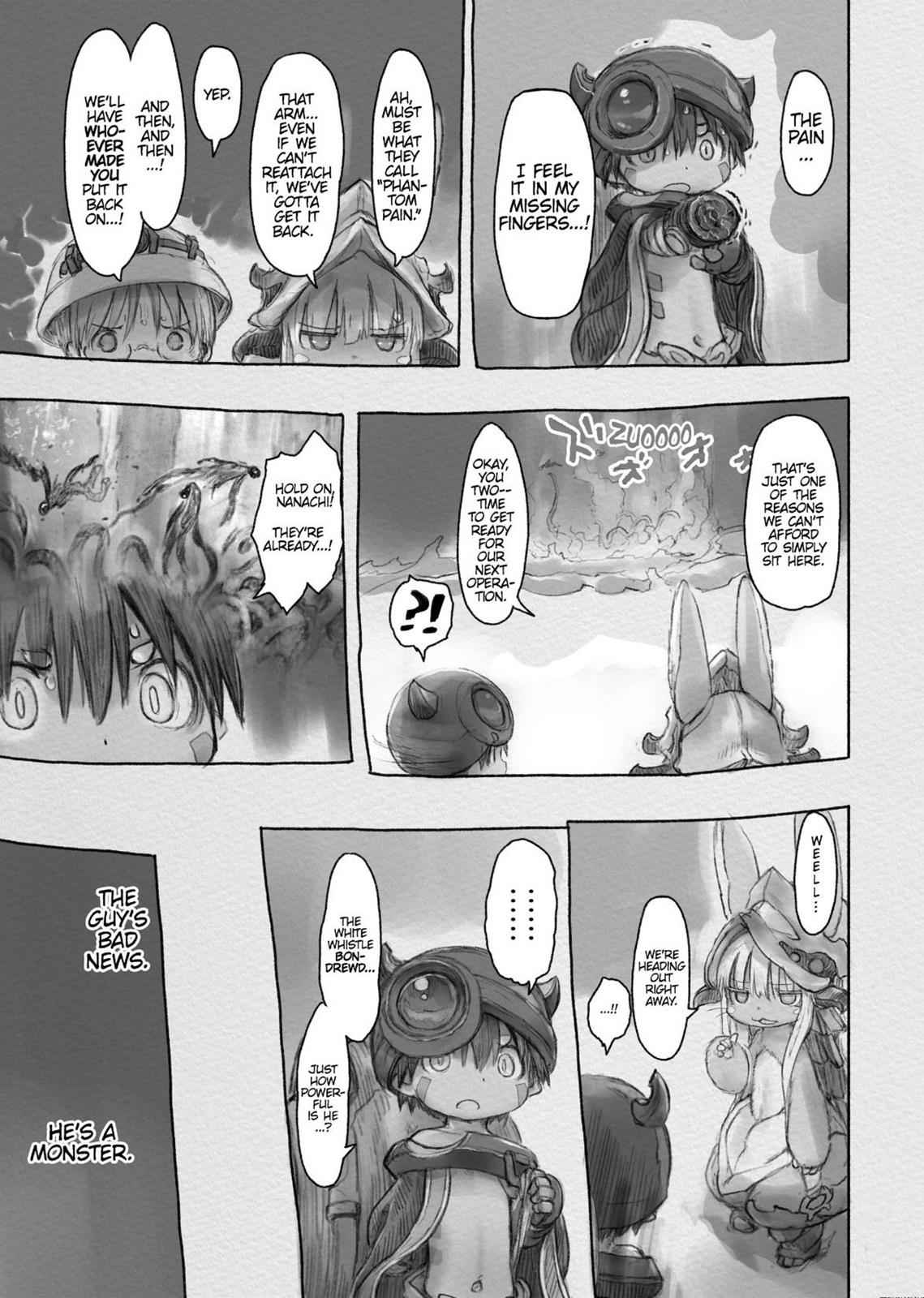 Made in Abyss Chapter 32 Page 3