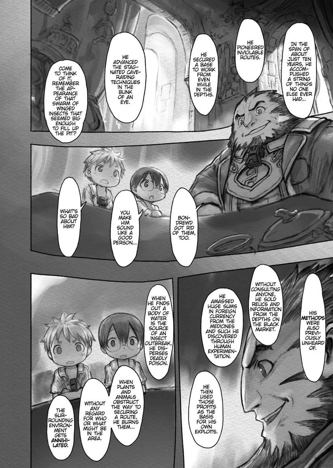 Made in Abyss Chapter 32 Page 4