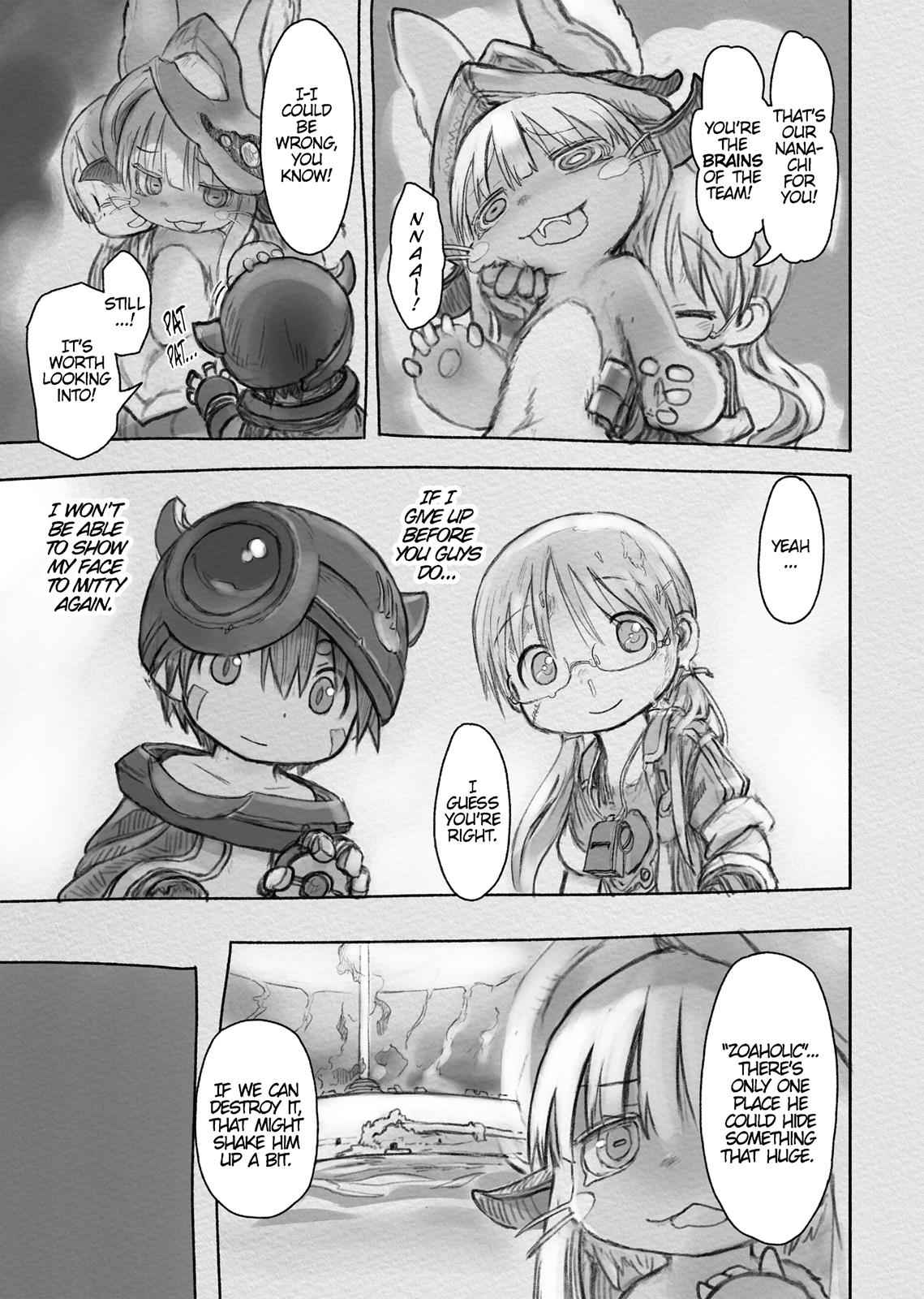 Made in Abyss Chapter 33 Page 23