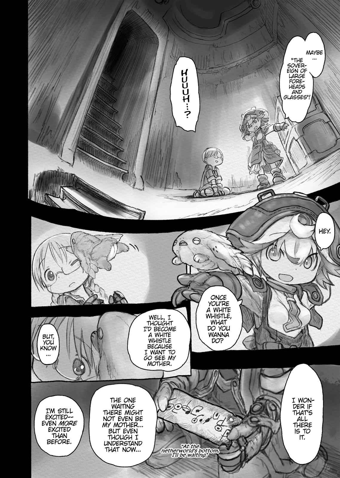 Made in Abyss Chapter 33 Page 8