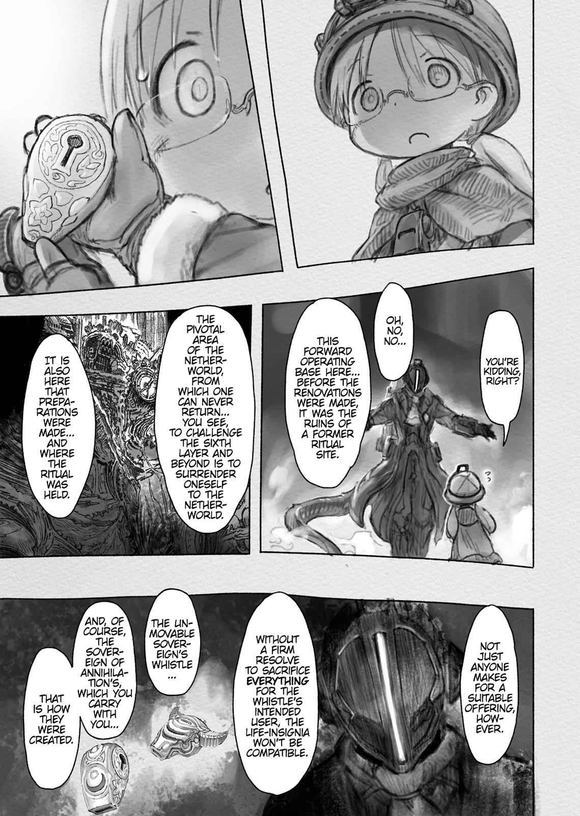 Made in Abyss Chapter 34 Page 13
