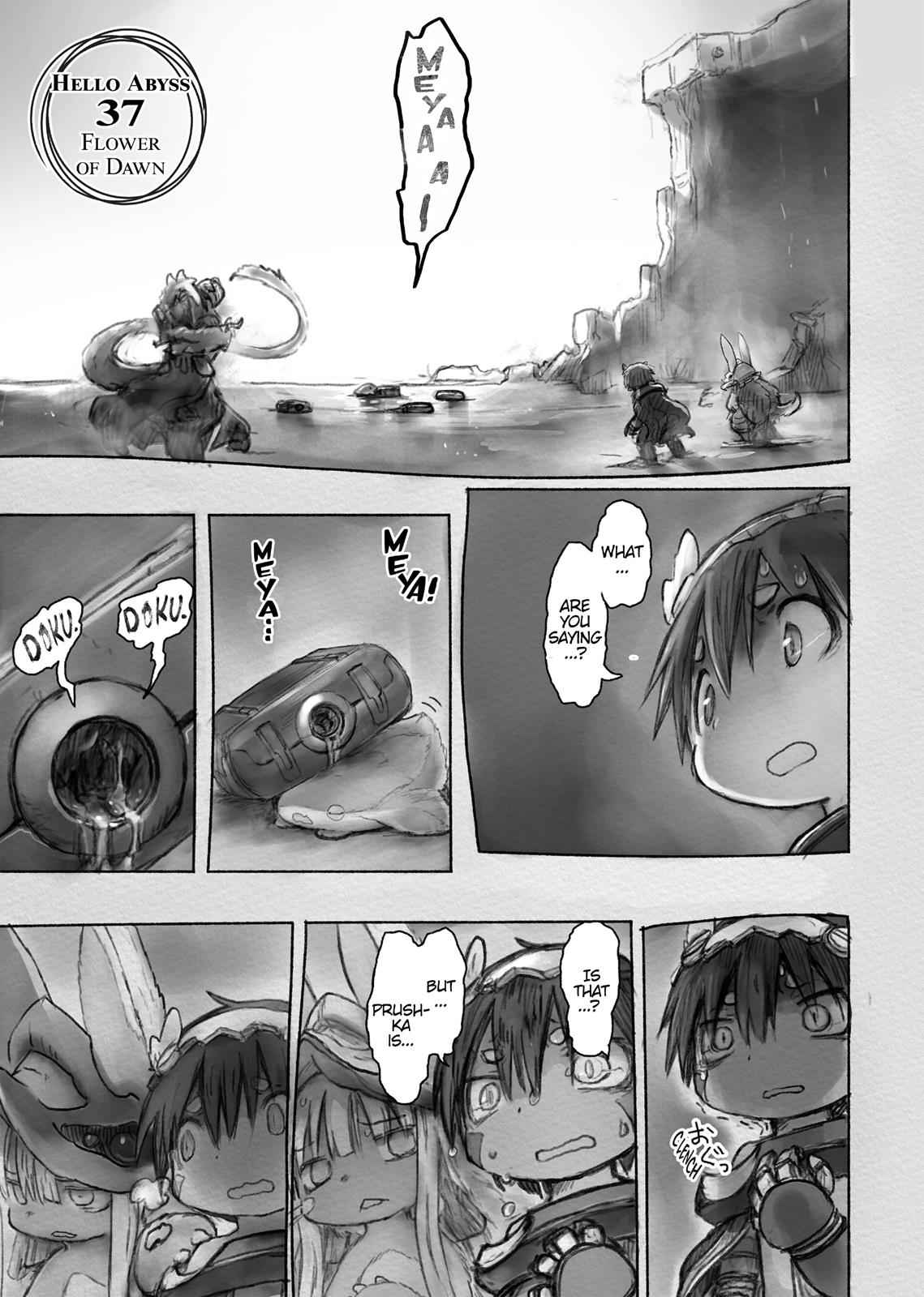 Made in Abyss Chapter 37 Page 1