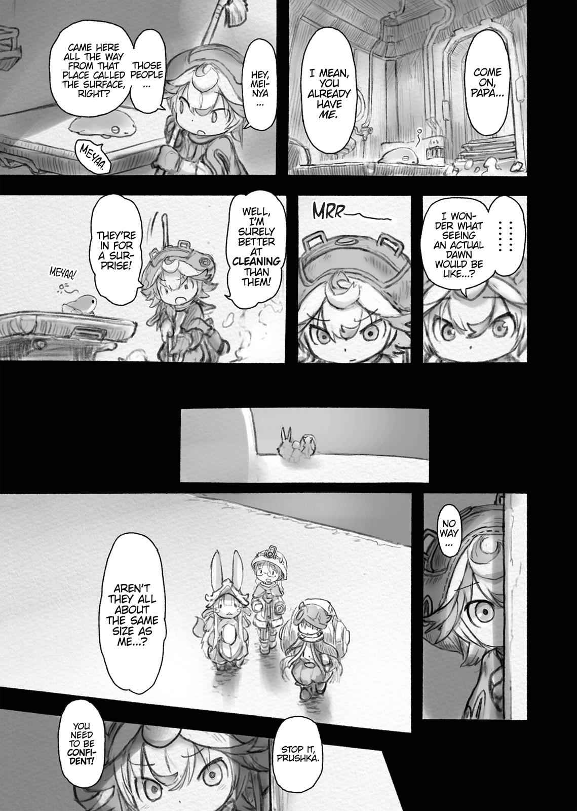 Made in Abyss Chapter 37 Page 19