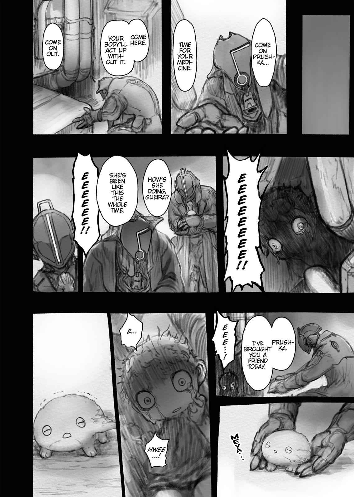 Made in Abyss Chapter 37 Page 8