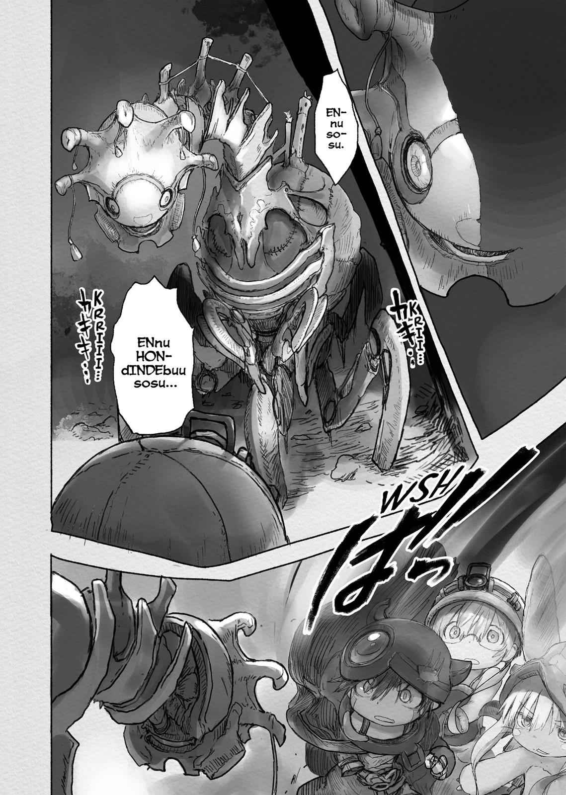 Made in Abyss Chapter 40 Page 10