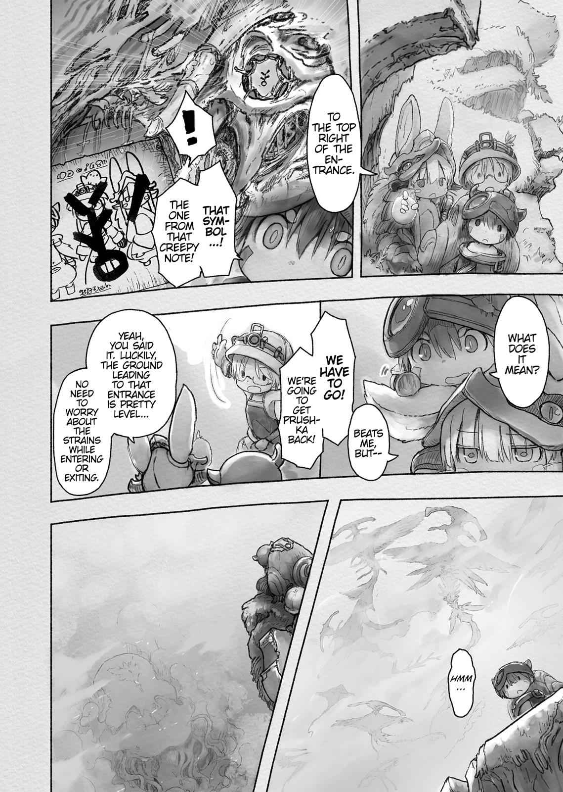 Made in Abyss Chapter 40 Page 2
