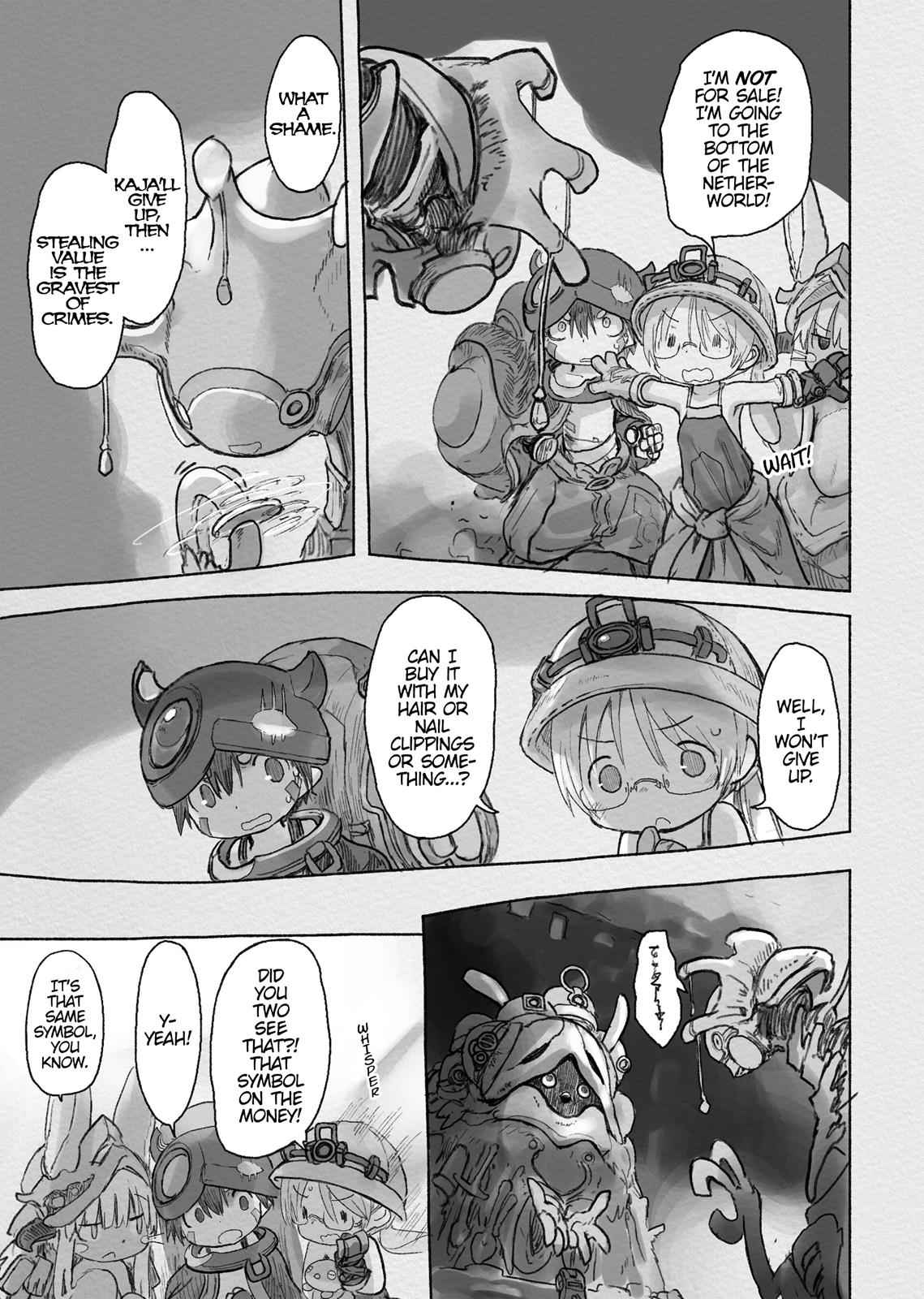 Made in Abyss Chapter 40 Page 21